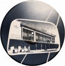 Фотография аэропорта — гибкая пластинка. 1960-е гг.