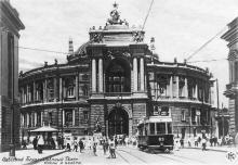 Одесский Государственный Театр оперы и балета. Фотооткрытка (отретушированная). 1930-е гг.