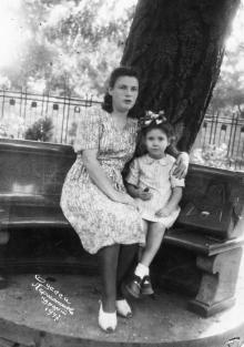 Одесса. Лермонтов курорт. 1947 г.