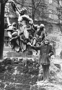 Скульптура «Лаокоон». Одесса, 1960-е гг.