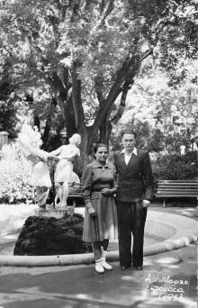 Дом отдыха «Моряк». Одесса. 1957 г.