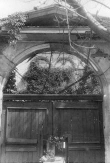 Колодезный пер., 17/19. Фото А.О. Лисенко. 1950-е гг.