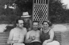 Одесса. Лузановка. 1955 г.