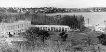 Развалины Крестьянского санатория. Фото из архива Елены Куриленко. 1975 г.