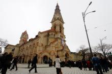 Открытие Лютеранской церкви после реконструкции. Фото Е. Волокина. Одесса, 16 апреля 2010 г.