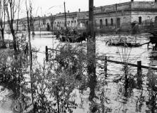 Одесса. Московская улица после подрыва дамбы. 1941 г.