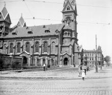 Лютеранская церковь на ул. Островидова. 1920-е гг.