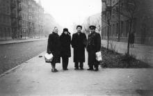 На ул. Горького, слева дом № 24. Одесса, 1962 г.