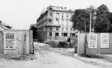Строительство подземного перехода на Дерибасовскую с Садовой через Советской Армии