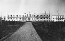 Новое здание санатория НКЮ. Дофиновка. Одесса. 1934 г.