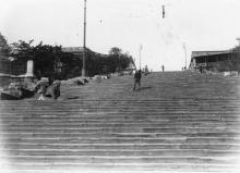 Бульварная лестница. 1917 г.