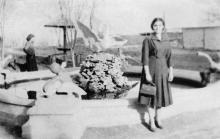 В доме отдыха № 6 ВЦСПС «Отрада». 1950-е гг.