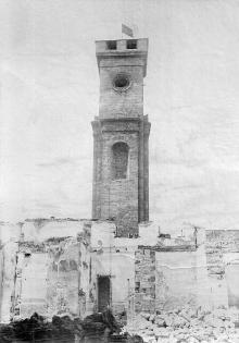 Старый базар, главный павильон, фотография 1920-х годов