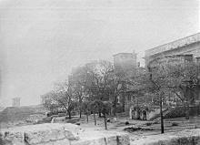 Начало Преображенской улицы, фотография 1920-х годов