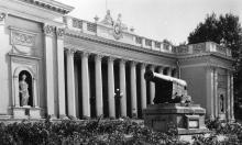 Одесса. Памятник архитектуры. Фото О. Малаховского из набора «Одесса». 1963 г.