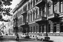 Одесса. Гостиница «Одесса». Фото Г. Павлиди из набора «Одесса». 1963 г.