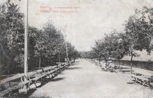 Одесса. Александровский парк. Открытое письмо. 1910-е гг.