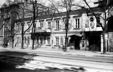 Преображенская угол Дерибасовской, фотография начала 1950-х годов