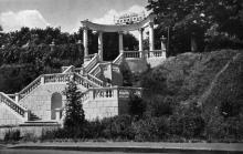 Одесса. Санаторий «Приморье». Фото О. Малаховского. Открытка из набора «Одесса», 1961 г.