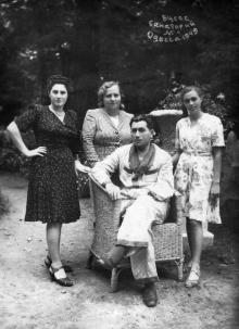 ВЦСПС. Санаторий № 4. Одесса. 1949 г.