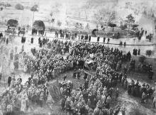 Похороны жертв январских событий 1918 г.
