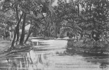 Одесса. Хаджибейский парк и лебединое озеро. 1910-е гг.