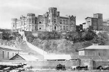 Вид с моря на Шахский дворец