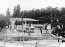 16-я станция Большого Фонтана, пляж «Золотой берег». 1960-е гг.