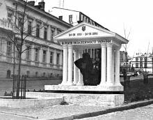 Ланжероновская угол Пушкинская, фотограф О. Владимирский, 2001 г.
