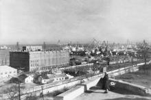 Одесса. Вид на порт. 1960 г.