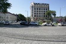 Тираспольская площадь. Фото В. Тенякова. 08 августа 2017 г.