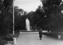 Горсад, любительское фото, 1956 г.