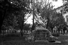 Одесса. Лаокоон. Фото Бориса Владимировича Зозулевича. 1957 г.