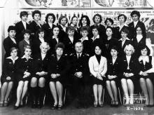 Учебно-тренировочный отряд Украинского ордена Трудового Красного Знамени управления гражданской авиации (цикл авиаперевозок). 1979 г.