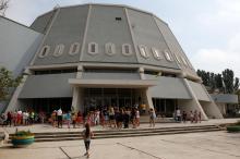 Киноконцертный комплекс Украинского детского центра «Молодая гвардия». Фото Е. Волокина. 2017 г.