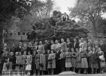 Грот-фонтан. Одесса. 1957 г.