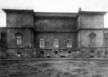 Художественный музей, тыльная сторона, 1930-е годы
