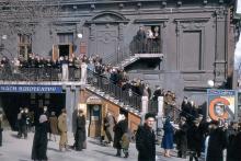 Кинотеатр им. Маяковского. Фото Хорста Коха. 1956 г.