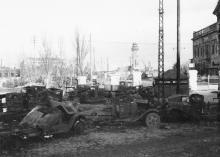 Проходная Одесского порта в ноябре 1941 г.