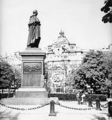 Памятник М.С. Воронцову. Одесса. 1977 г.