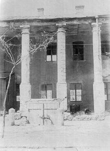 Греческий базар, колоннада, 1920-е годы