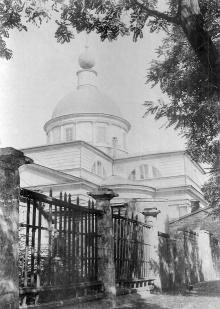 Покровская церковь на Александровском проспекте, 1920-е годы