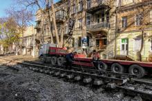 Ремонт ул. Преображенской. Фото О. Владимирского. 12 ноября 2017 г.