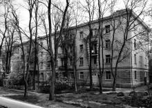 Жилой дом по Пролетарскому бульвару, № 43. Одесса, 1980-е гг.