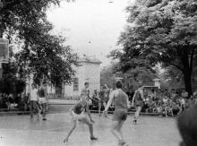 Баскетбольная площадка. Середина 1960-х гг.