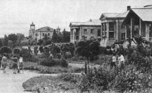 Одесская туристская база. Фото в брошюре «Одесская туристская база», 1972 г.