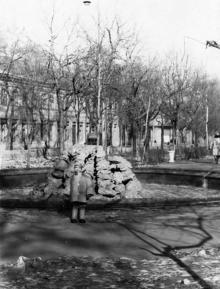 Проспект Сталина (Александровский), фотограф А.И. Молчанов, лето 1954 г.