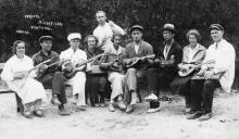 Одесса. Оркестр Всеукраинского санатория учителей. 1930-е гг.