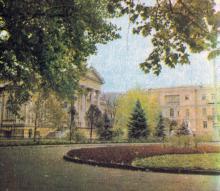 Археологический музей. Фото в брошюре «Одесская туристская база», 1972 г.