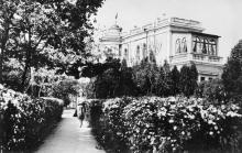 Дом отдыха «Октябрь». Фото Л. Штерна из набора открыток «Одесса», 1962 г.